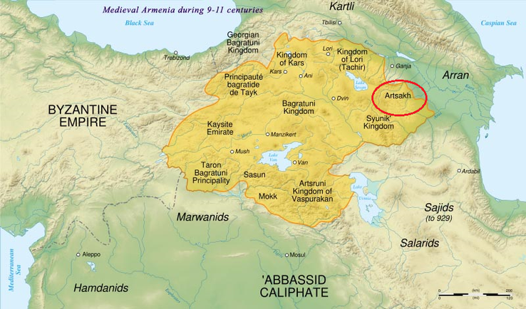 Medieval Armenia during 9 - 11 centuries