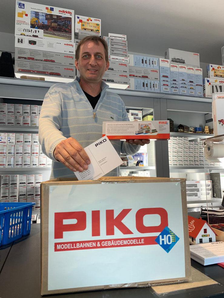 Holger Dau Bieger Spielwaren Hauptgewinn Piko Lok
