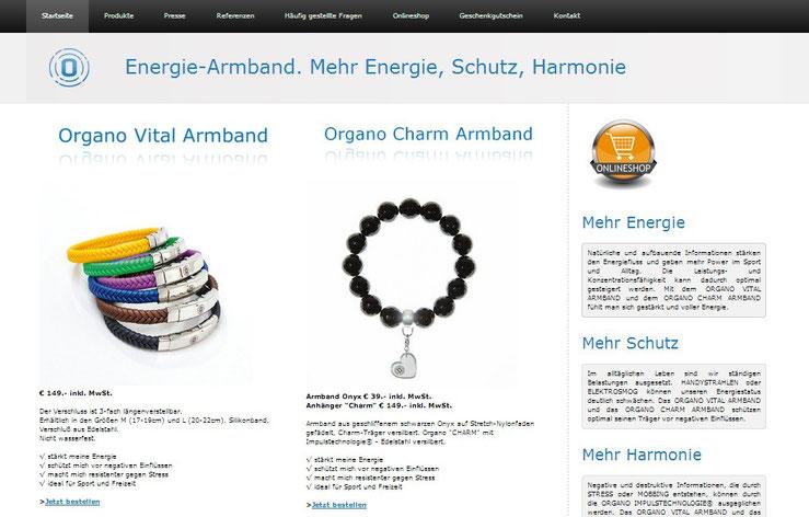 Hahn&Co für www.energiearmband.at