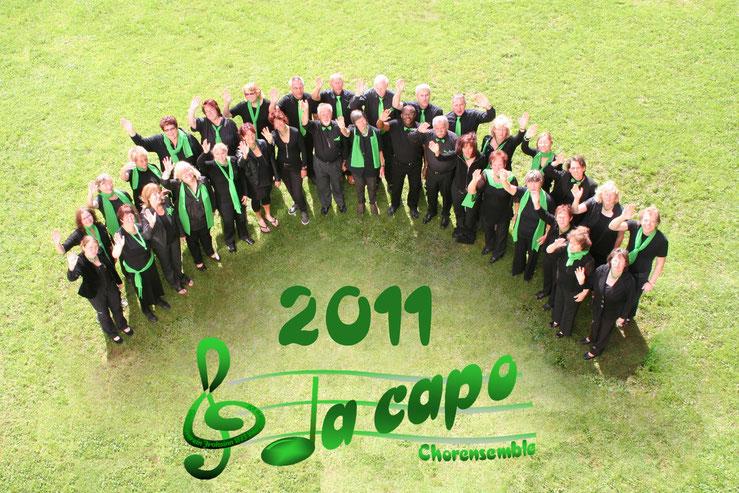 Im Jahr 2011 feierte Da Capo seinen 25. Geburtstag. Die Chorgruppe steht unter der Leitung von Andreas Mlynek und gehört dem Gesangverein Frohsinn 1873 Wernborn an.