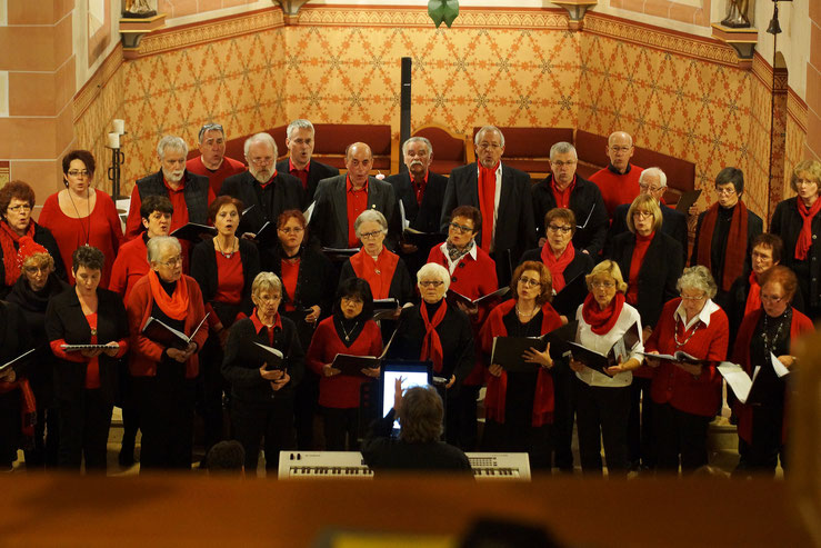 Adventskonzert in Wernborn 2014, Gesangverein Wernborn