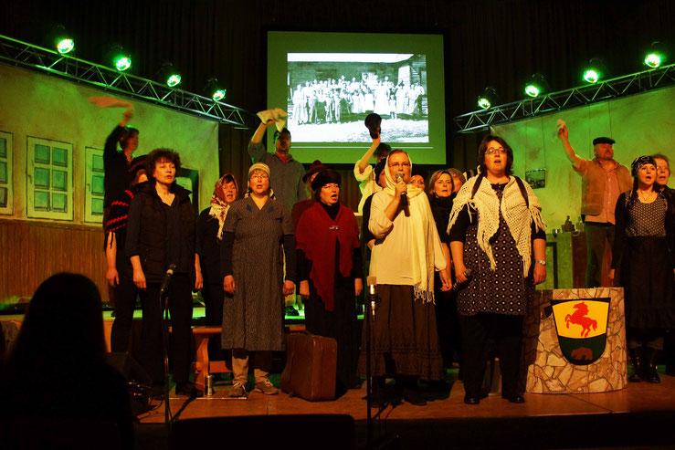 Da Capo im Musical Bereburyn in Wernborn 2016. Foto: p.z.