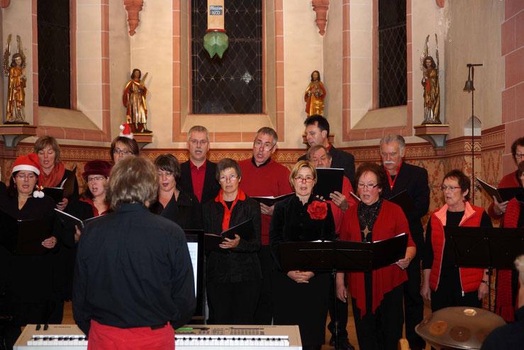 Das Adventskonzert Von Da Capo 2015 - Die Männerstimmen mit Damen aus dem Sopran und dem Alt