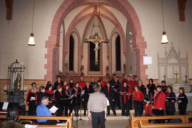 Adventskonzert des Gesangvereins Wernborn 2012