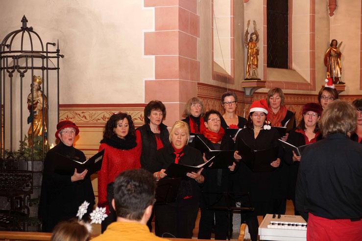 Das Adventskonzert von Da Capo 2015 - Die Sopranstimmen.