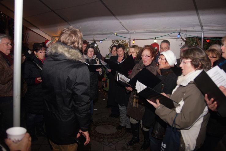 Weihnachtsmarkt in Wernborn, Da Capo, Gesangverein Wernborn