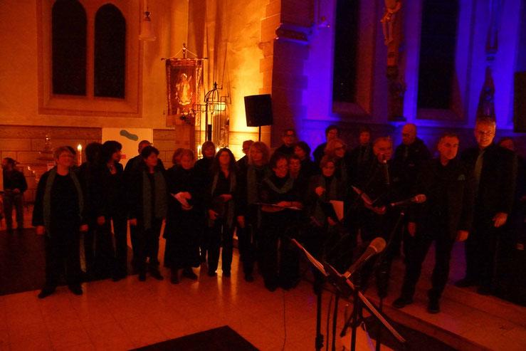Nacht der offenen Kirche in Wernborn, Auftritt von Da Capo. Foto: p.z.