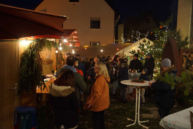 Weihnachstmarkt in Wernborn 2015.