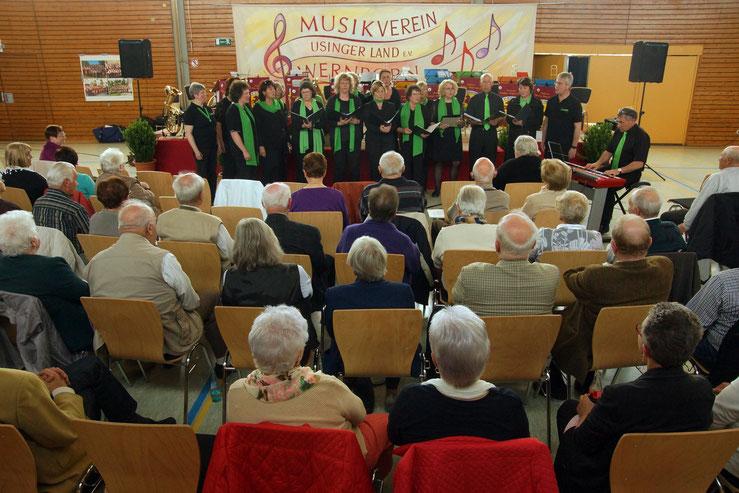 Auftritt von Da Capo beim Frühlingskonzert in Wernborn.
