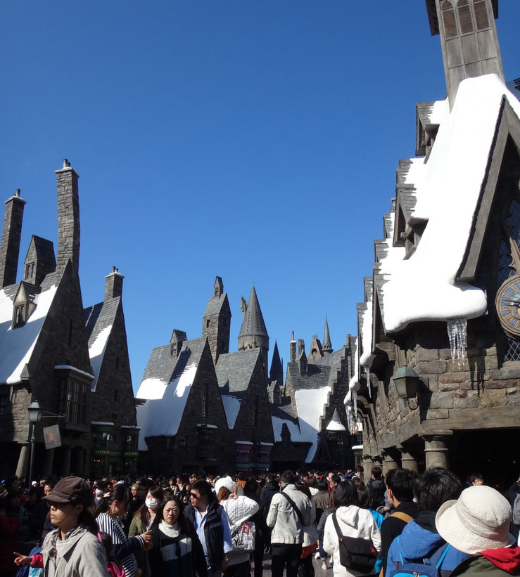 USJ Harry Potter area