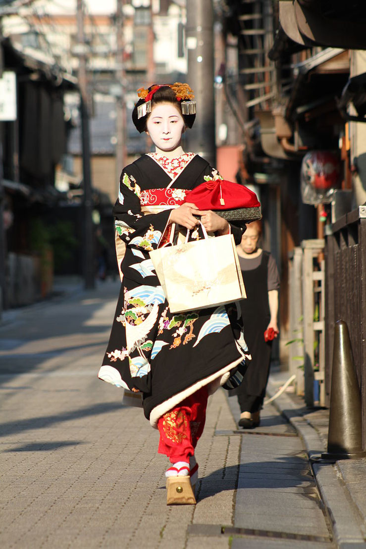 Maiko in Kyoto Source: Wikipedia