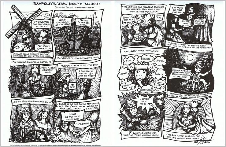 Comic Rumplstiltskin