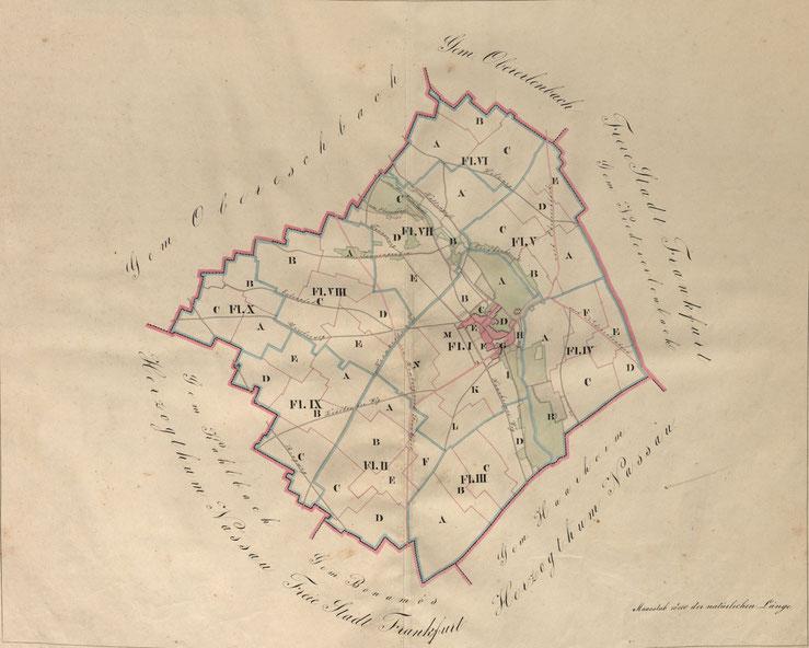 Hessisches Staatsarchiv Darmstadt, Nieder-Eschbach Sig.3442