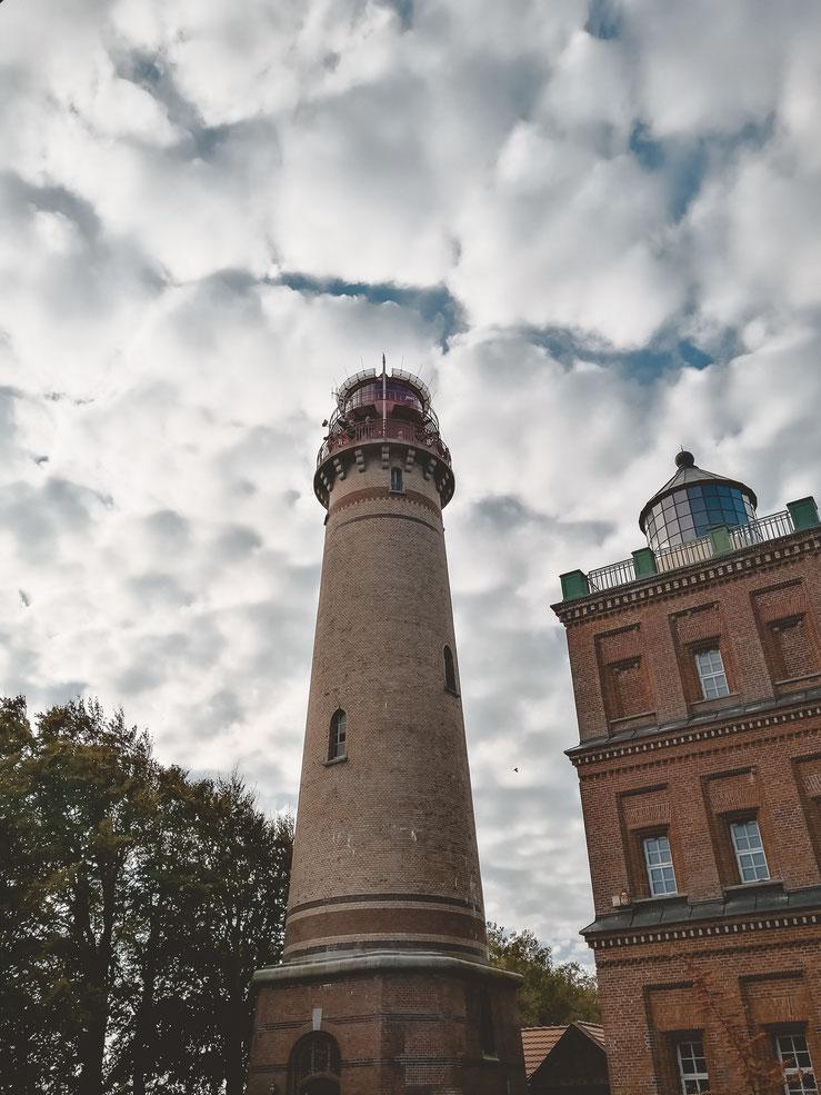 Der historische Leuchtturm am Kap mit Standesamt
