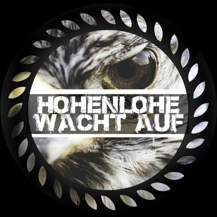 Hohenlohe wacht auf Logo