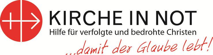 Kirche in Not Hilfe Christen Christenverfolgung weltweit Hilfswerk KIN Deutschland Logo