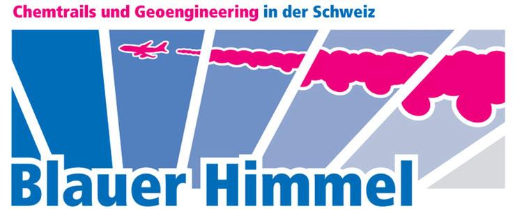 Chemtrails Geoengineering Schweiz Blauer Himmel Logo