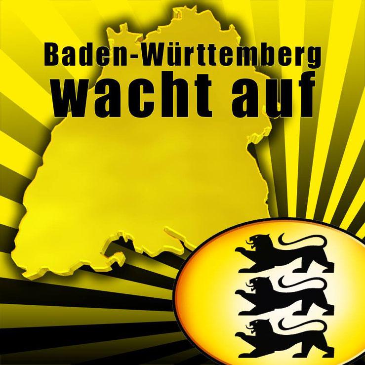 Baden-Württemberg wacht auf Logo