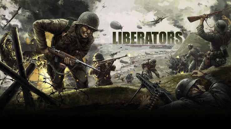 Libertators Wargame Kriegspiel Strategiespiel Title Titelbild
