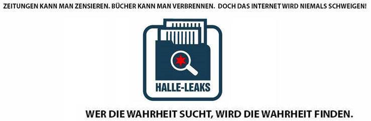Halle Leaks Wahrheit Logo