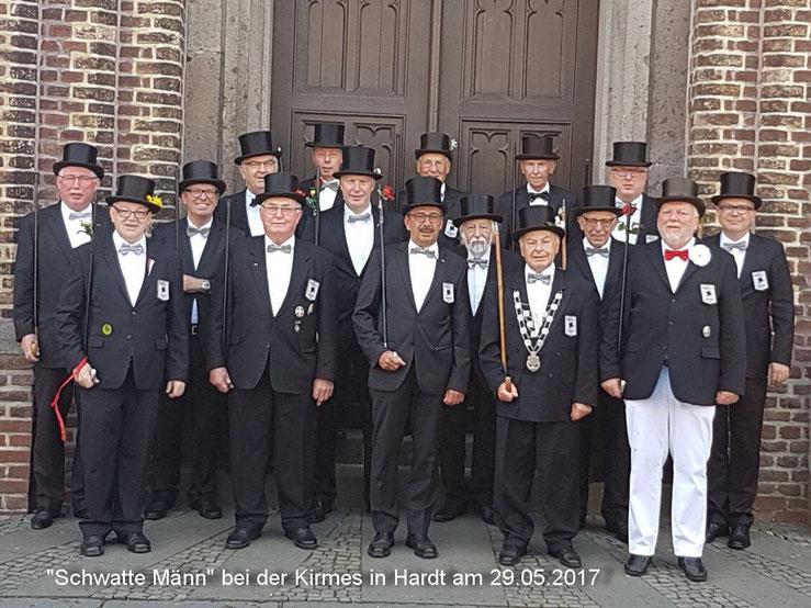 Schwatte Männ im Jahr 2017