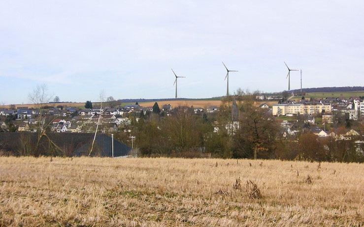 Fotomontage: Nastätten Industriestraße