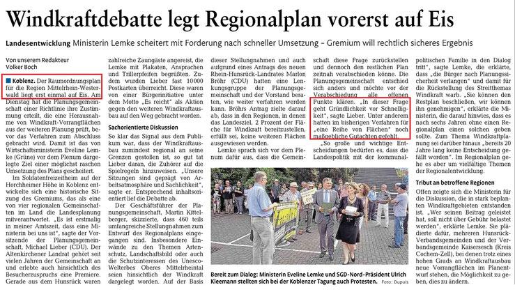 Rhein-Lahn-Zeitung v. 22.07.2015