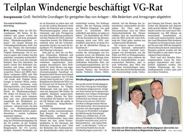 Rhein-Lahn-Zeitung vom 06.12.2014