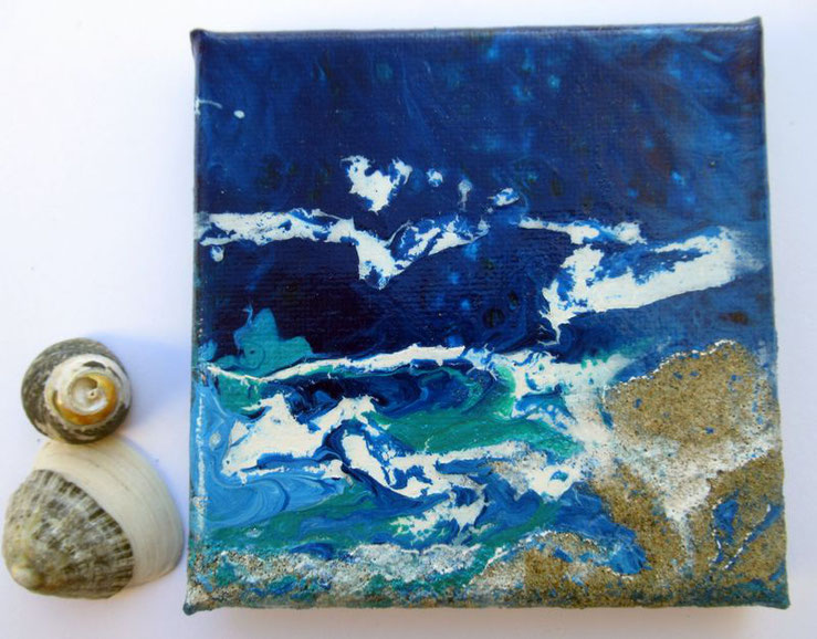 mini-peinture-marine-ocean-abstraite-tableau-bleu-decoration-minimaliste-miniature-audrey-chal-royan-artiste-peintre