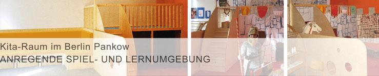 Teaser Projekte / mit Klick zur Projektbeschreibung >Kita-Raum in Berlin Pankow<