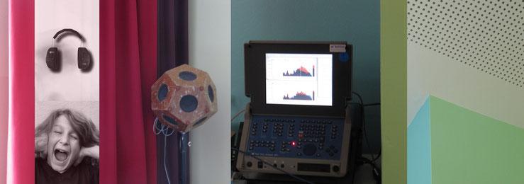 Bildcollage Akustik