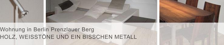 Teaser Projekte / mit Klick zur Projektbeschreibung >Wohnung in Berlin Prenzlauer Berg<