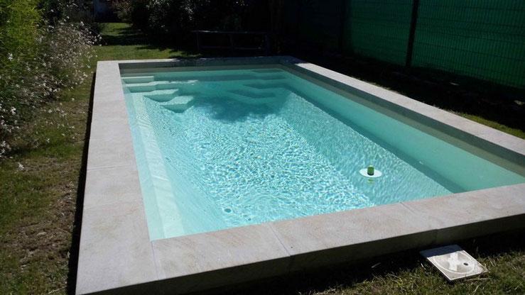 Installations constructions gilbert piscines sas for Prix piscine coque 6 x 3