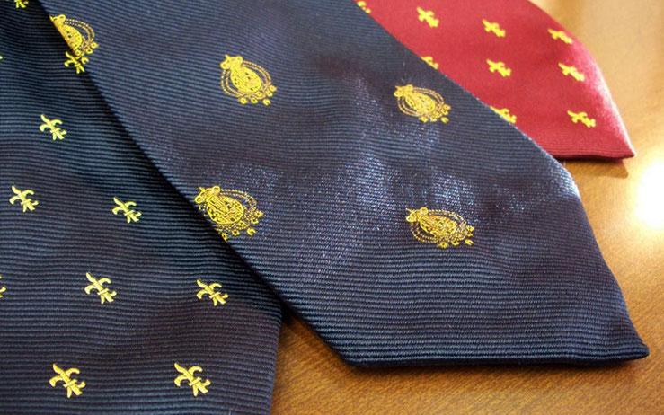 Cravatte Regno due Sicilie tinto in filo