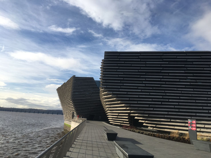 Das V&A Museum in Dundee