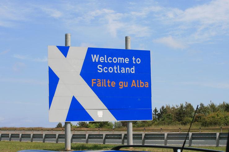 Willkommen in Schottland