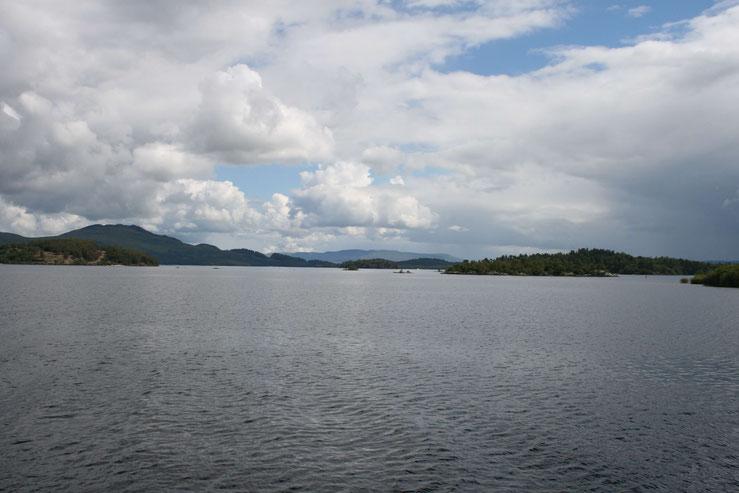 Die Besuchereinrichtungen an Loch Lomond sind derzeit geschlossen