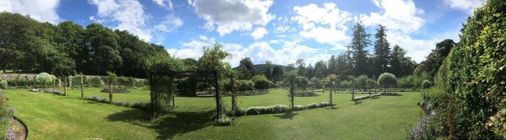 Garten von Ballindalloch Castle