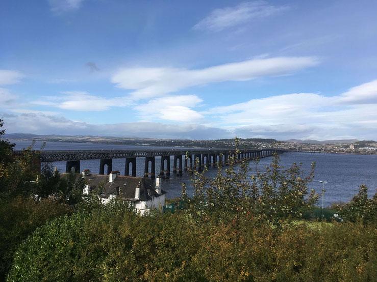 Blick von Newport-on-Tay/Wormit nach Dundee