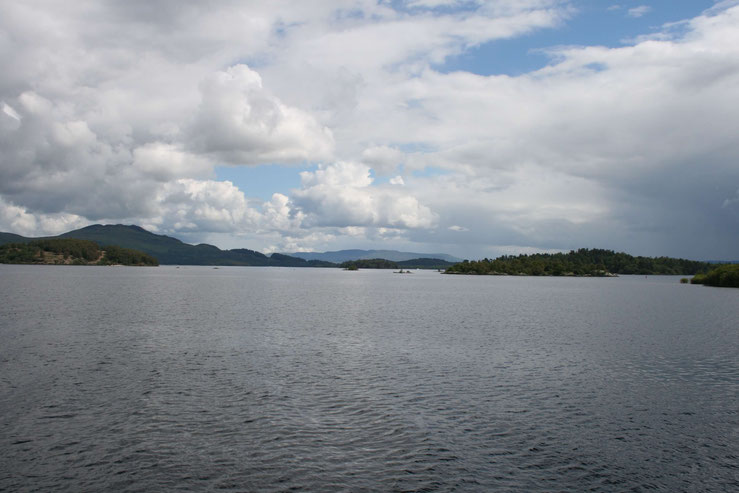 Visitor facilities at Loch Lomond are currently closed