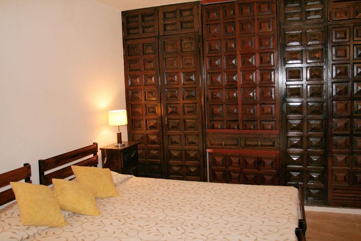 Einbauschrank im Schlafzimmer
