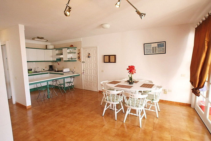 Essbereich vor der Küche