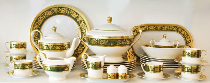 Столовый и чайный сервиз Falkenporzellan