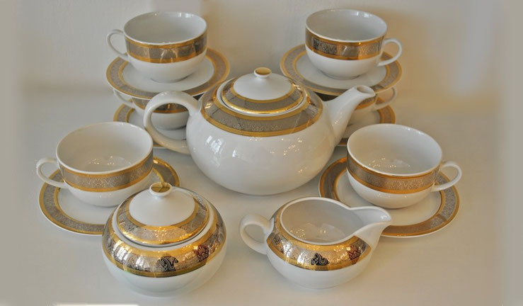 чайный сервиз Thun Чехия