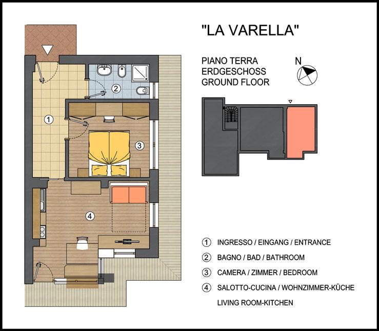 Appartamento Lavarella