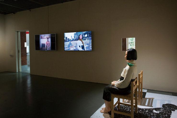 「表現の不自由展:解放への長い道程 Non-Freedom of Expression Exhibition: A Long Trail for Liberation」台北當代藝術館 Installation view 写真提供:表現の不自由展実行委員会、写真撮影:MOCA Taipei