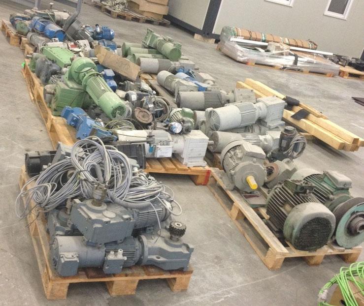 Bild Ankauf Getriebemotoren SEW Getriebe Nord neu und gebraucht Ankauf Pumpen neu und gebraucht