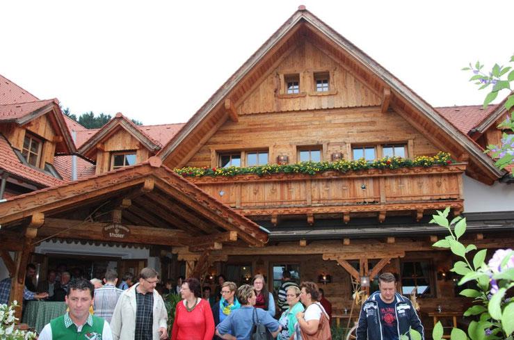 Abstecher zum Weinhof Thaler in Bad Waltersdorf