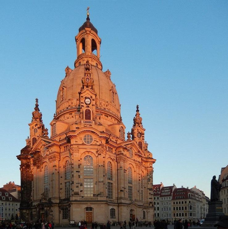 Dresden Frauenkirche im Dez.2014
