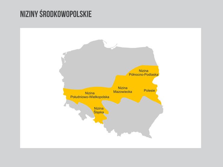 Krainy Geograficzne Polski Przyrodalekcje